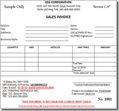 NONVAT Invoice